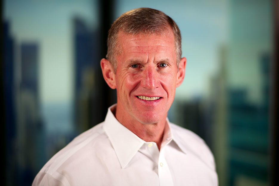 General Stanley McChrystal delivers keynote address on leadership qualities and leading during crises at GSX+