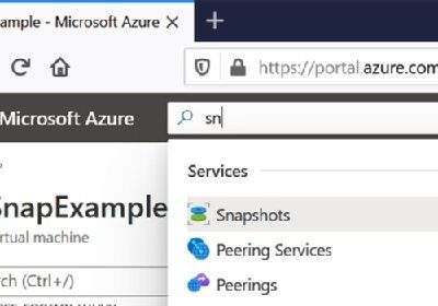 How to create snapshots for Azure VMs and managed disks